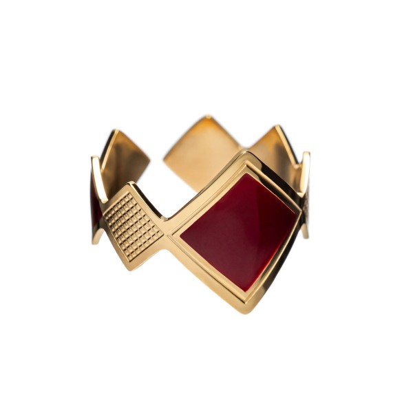 Red Oliver ring