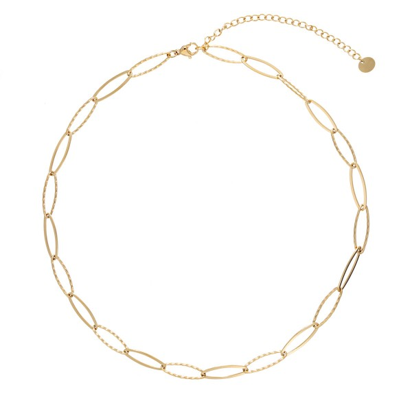 Faceted link choker