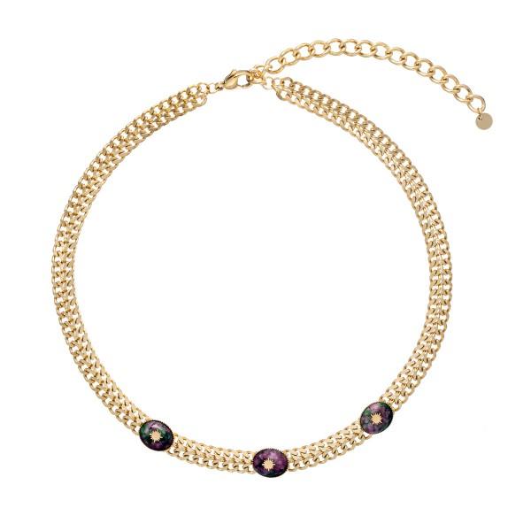 Kenya Zoisite necklace