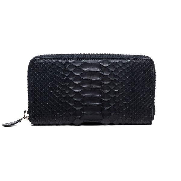 Black python wallet