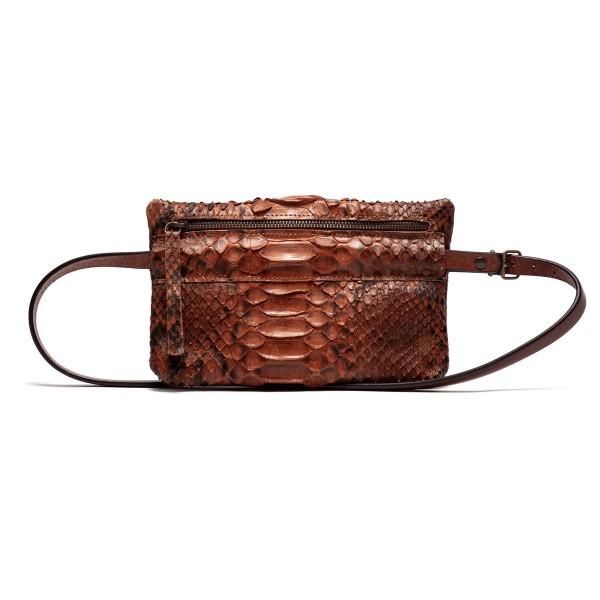 (Presale) Camel python bum bag