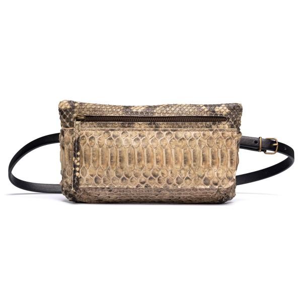 (Presale) Natural python bum bag
