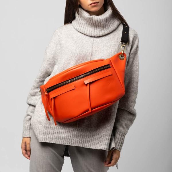 Unisex orange L bum bag