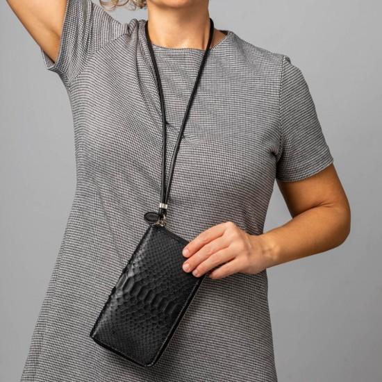 Black mobile wallet
