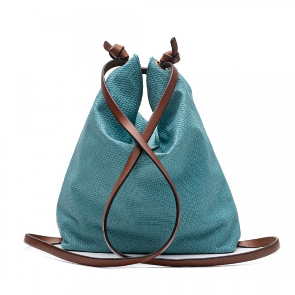 Blue convertible backpack