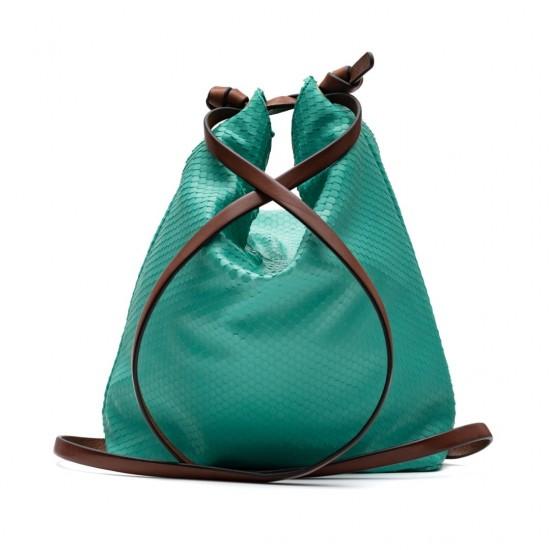 Green convertible backpack